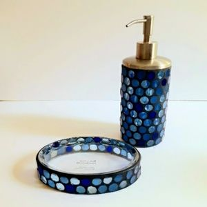 Mosaic Tile & Glass Bathroom Accessories